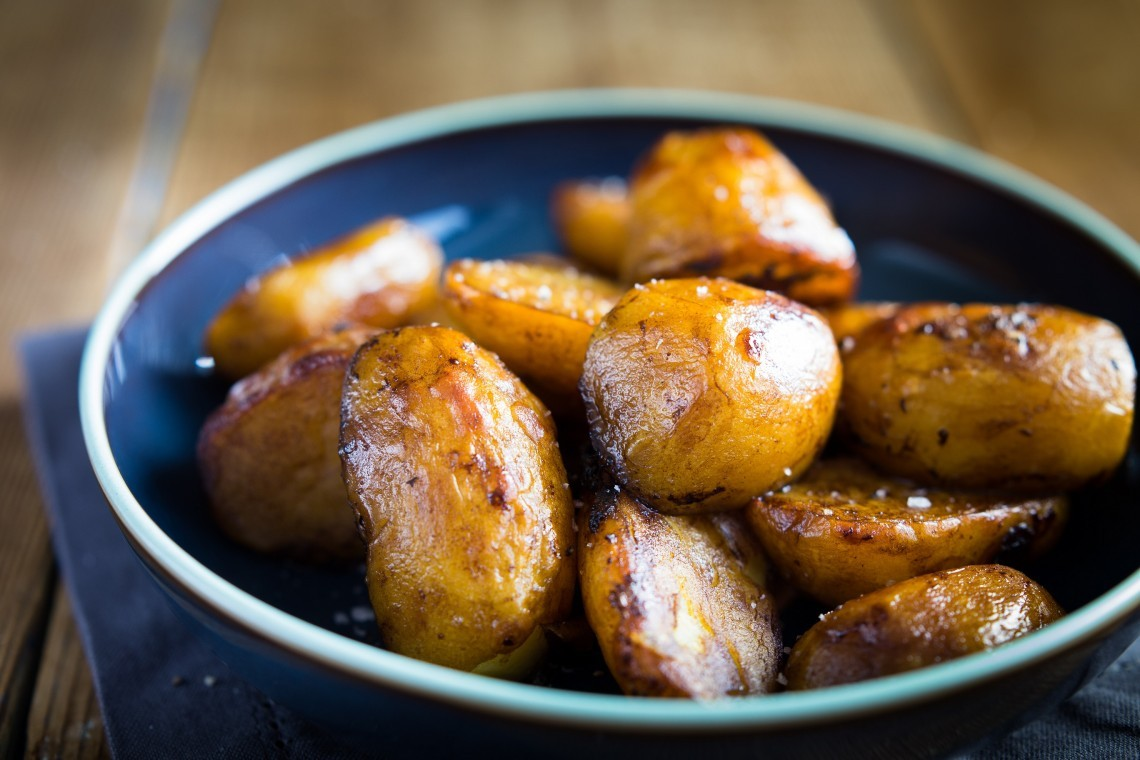 Guinness roast potatoes for roast dinner