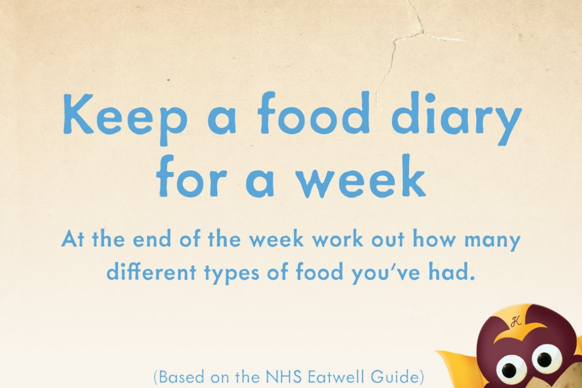 Keep a Food Diary for a Week