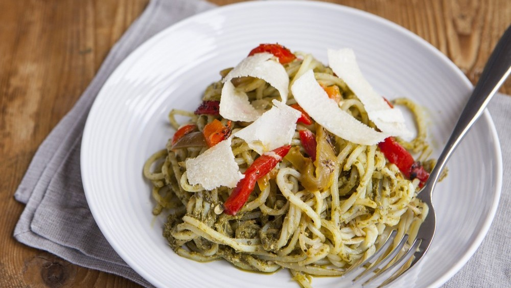 Potatetti with pesto