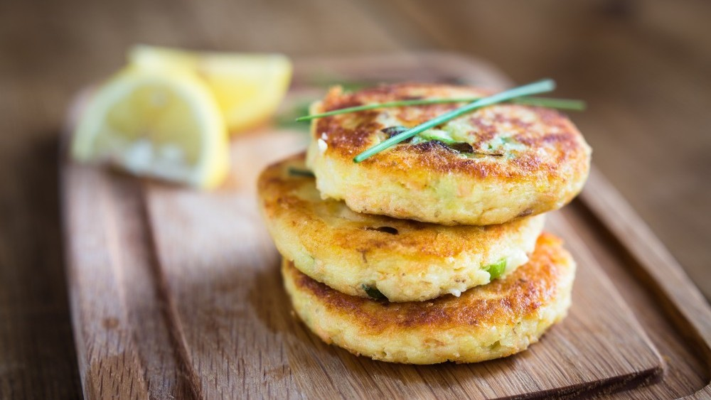 Potato  & Salmon Patties