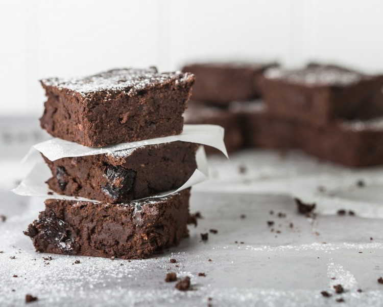 Easy sweet potato chocolate brownies